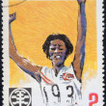 Vintage stamp devoted — Stock Photo