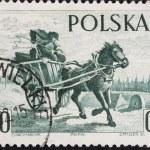 Postal vintage stamp — Stock Photo #1269048