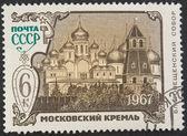 复古邮政邮票 — 图库照片