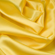 Stock Photo: Elegant yellow ablaze satin background