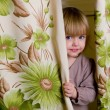 Little girl has hidden — Stock Photo #1103217