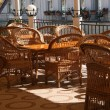 Wicker furniture — Stock Photo #1240265