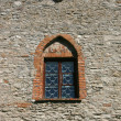 Stock Photo: Window in a wall