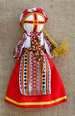 The Ukrainian national doll — Stock Photo