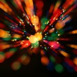 Multicolor  lights — Stock Photo