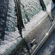 Frozen car — Stock Photo