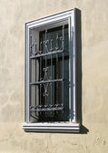 Window with a lattice — Stock Photo