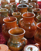 Ceramic jugs — Stock Photo