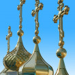 Domes of churches. — Stock Photo