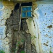 Rustic window — Stock Photo