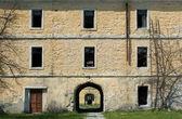 Abandoned old stone house — Stock Photo