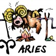 Aries illustration — Foto Stock #1161617