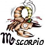 Scorpio illustration — Stock Photo #1161666