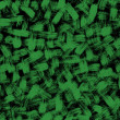 Background brushstroke green — Stock Photo