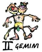 ジェミニの図 — ストック写真