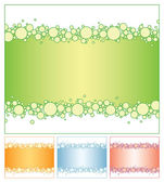 Bubble background — Stock Vector