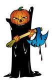 Halloween monster — Stock Vector