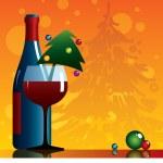 Newyear vine — Stock Vector #1281550