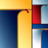 Zipper backdrop — Stock Vector