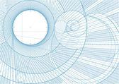 Lines draft backgroundA — Stock Vector