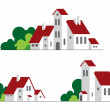 Buildings — Stock Vector