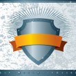 Royalty-Free Stock Imagen vectorial: Shield with ribbon