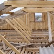 Roof timbers — Stock Photo