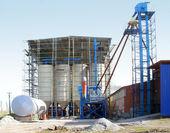 Construction new factory — Stock Photo