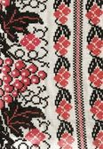 Decorative pattern of embroidery — Stock Photo