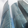 Skyscrapers in new Moscow City center — Stock Photo
