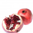 Foto Stock: Two pomegranates