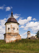 Ruins of ancient monastery near Kargopol — Stock Photo