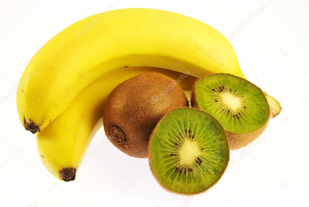 Из банана и киви