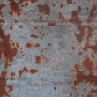 Fragment of old rusty steel surface - Stock Photo