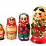 Постер, плакат: Traditional russian souvenir