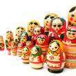 Set of nesting dolls - Stock Photo