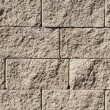 Close up image of stone wall — Stock Photo