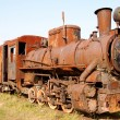 Royalty-Free Stock Photo: Old rusty steam locomotive