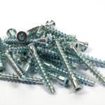 Heap of metal screws — Stock Photo #2188950