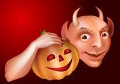 дьявол — Cтоковый вектор