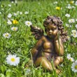 Angel in grass — Stock Photo