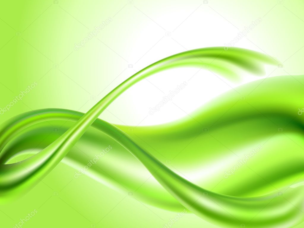 Abstract green background  Stock Vector #1789560