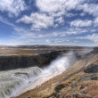 Waterfall in iceland — Stock Photo #1136218