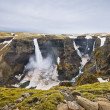 Waterfall in iceland — Stockfoto #1136224