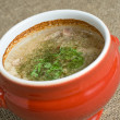 Soup in pot — Stock Photo #1136377
