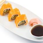 rolki sushi — Zdjęcie stockowe #1136386