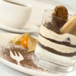 Tiramisu in a glass - Stock Photo