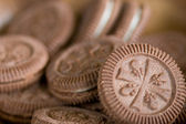 Chocoloate soubory cookie — Stock fotografie