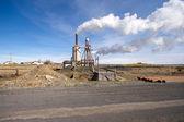 ökostrom-kraftwerk — Stockfoto