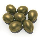 Gold eggs — Stock Photo